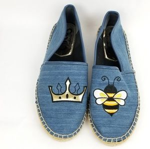 Sam Edelman Circus Leni Queen Bee Espadrille Flats
